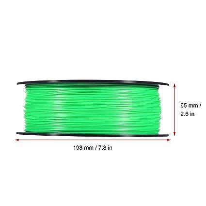 Filamento 3D PLA Spool Filamento de 1.75 mm para impresora de ...