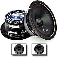1 PAIR Audiopipe 6 250W Low Mid Frequency Loud speakers APMB-6SB-B FULL RANGE