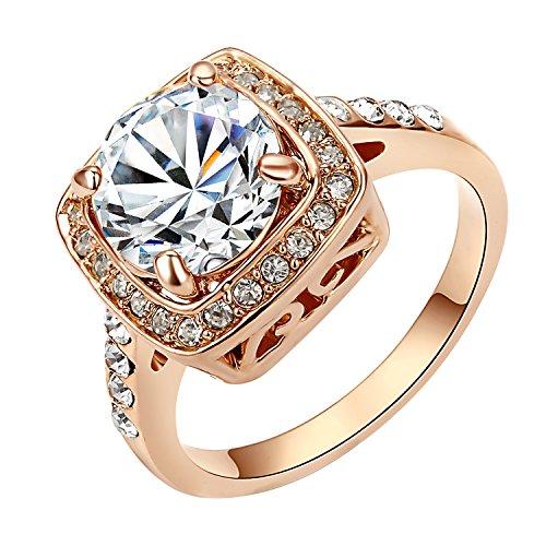 Yoursfs 18k Diamond Wedding Ring (Gold) - 1