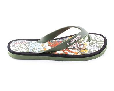 834aa54a777b Ed Hardy Military Luxury Men s Flip Flops   Sandals (UK 7