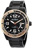 Peugeot Men's 1030BK Stainless Steel Watch