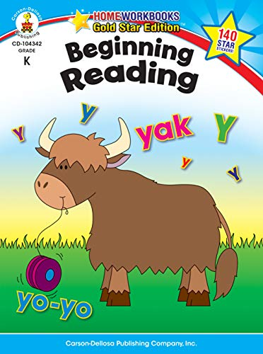 Grade First Reading Connections - Beginning Reading, Grade K: Gold Star Edition (Home Workbooks)