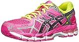 Cheap ASICS Women's Gel-Kayano 21 Lite-Show Running Shoe,Hot Pink/Lite/Safety Yellow,5 M US