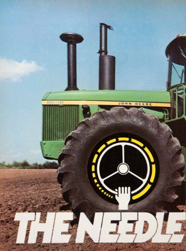 1976 Ad John Deere Tractor Agriculture Advertisement Machine Needle Threader - Original Print Ad from PeriodPaper LLC-Collectible Original Print Archive