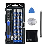 Eaxer 63-in-1 Precision Screwdriver Set, Magnetic Screwdriver Set with 56 Bits, Electronics Repair Tool Kit for for iPad, iPhone, Tablets, MacBook, PC, Smartphones, Watches, Glasses & Other Electronics