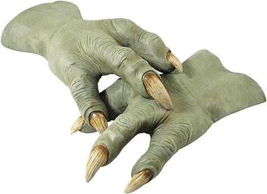 Yoda Mask Mens Fancy Dress Star Wars Jedi Adults Halloween Costume Accessory