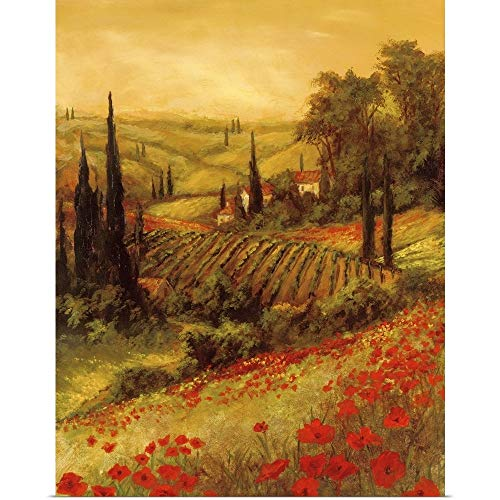 GREATBIGCANVAS Poster Print Entitled Toscano Valley II by Art Fronckowiak 24