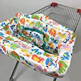 Shopping Cart Cover | High Chair Cover for Baby,Protector Antibacterial Safe Portable Travel Cushion