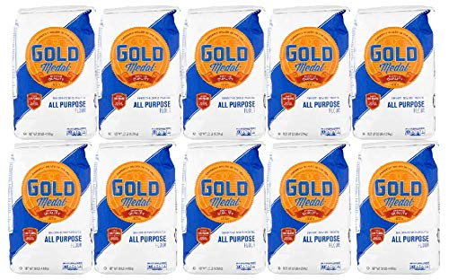 Gold Medal All Purpose Flour, 10 lbs. (2 count) (Pack of 5)