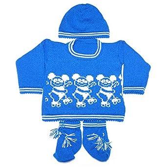 629e4b98b Apna Showroom Baby sweaters cap socks set