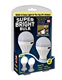 Super Bright Bulb: Portable Wireless Battery Operated Peel and Stick LED Lights; Tap Light, Touch Lights, Night, Utility, Under Cabinet, Shed, Kitchen, Garage, Basement