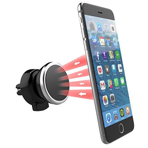 Power Theory Universal Magnet KFZ Halterung - Extrem Starker Magnet, Lüftungsschlitz Autohalterung für iPhone 6s 6 plus SE 5 5s 5c 4 4s Samsung Galaxy S7 S6 Edge S5 S4 S3 Smartphone Handyhalterung Auto Handy Halter