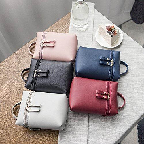 sac portable sac plein bandoulière sac de Da main gris sac dames à Sports téléphone air clair Wa Messenger à xPqXXCTwg