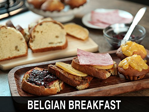 Clip: Belgian Breakfast - Cramique, Yoghurt Cakes, Apricot Coulis & Blackberry Jam ()