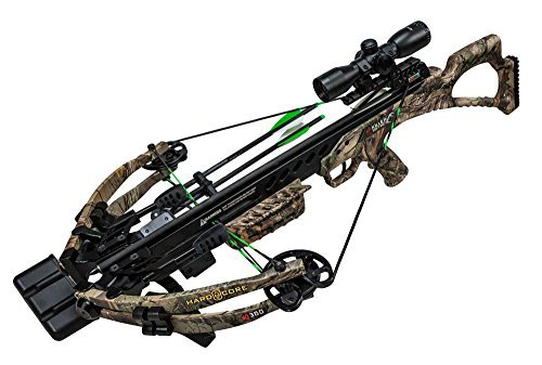 KI 360 HardCore Edition - High Performance Crossbow - Includes KI LUMIX Scope, 3 Bolts, Quiver, and Deadening String Suppressors by Killer Instinct (Image #4)