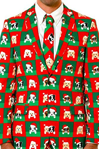 Shinesty Christmas Suits.Shinesty Men S Ugly Christmas Suit The Top Ugly Christmas