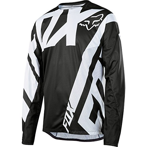 Fox Racing Demo Long-Sleeve Bike Jersey - Men's Black, - Cycling Podium Jersey