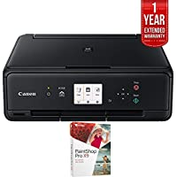 Canon PIXMA TS5020 Wireless Color Photo Printer with Scanner & Copier (1367C002) with Corel PaintShop Pro X9 & 1 Year Extended Warranty