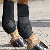 MOYLOR Horse Hoof Care Boots Equestrain Sports Equine Athlete Protective Gear Leg Wraps, Bandage (2 Pack)