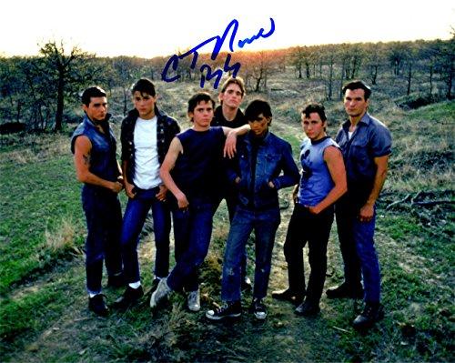 C. Thomas Howell Signed The Outsiders Cast 8x10 Photo w/Ponyboy