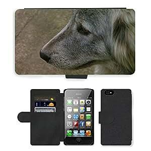 hello-mobile PU LEATHER case coque housse smartphone Flip bag Cover protection // M00137215 Perro Animal de Scott Cute Animals // Apple iPhone 4 4S 4G