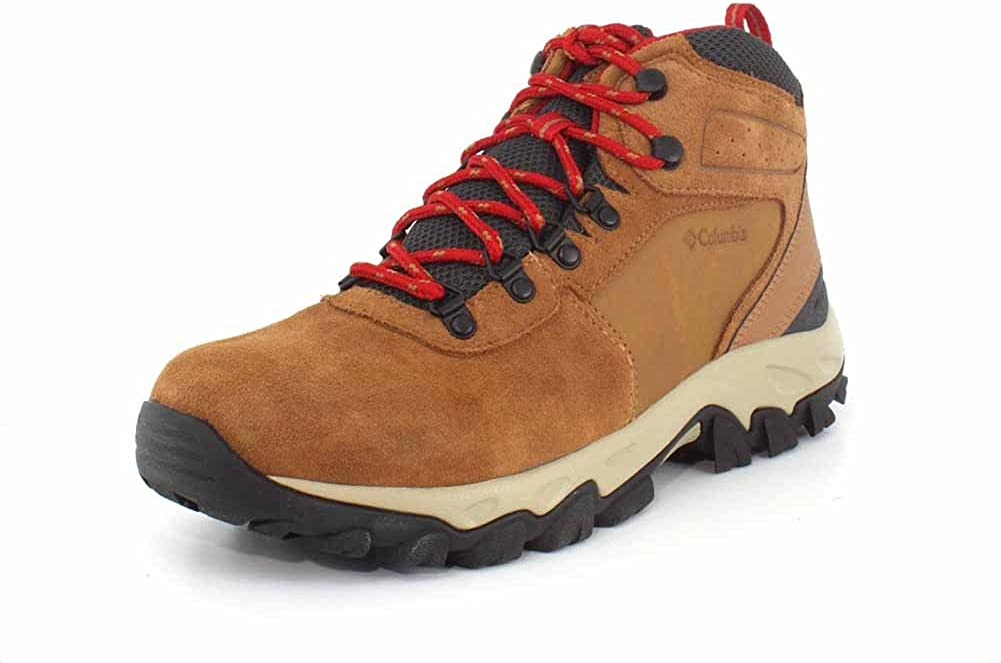 Columbia Mens Newton Ridge Plus Ii Suede Waterproof Boot Breathable with High-Traction Grip Hiking