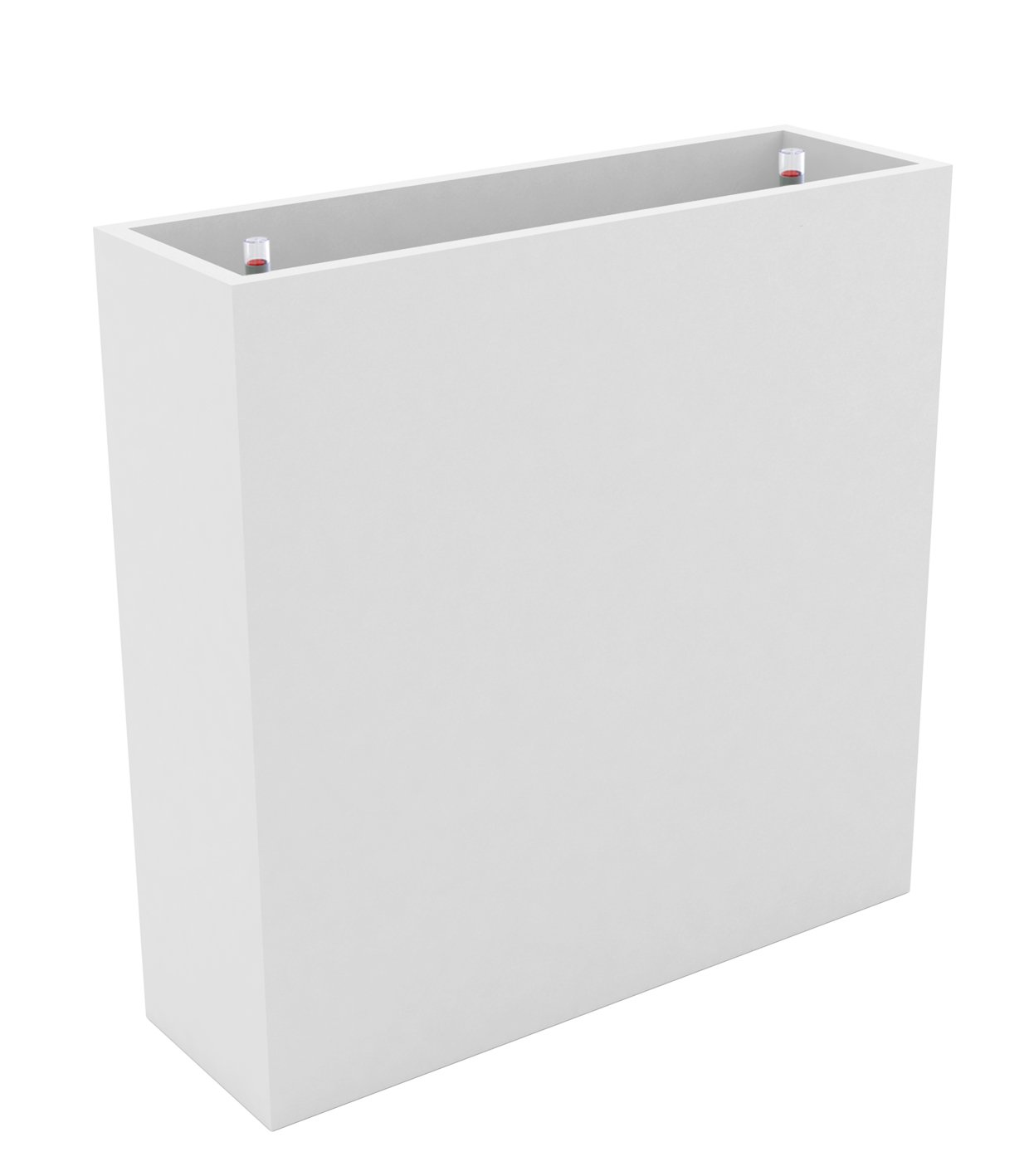 VONDOM Self Watering Wall Planter, 11-3/4 by 47-1/4 by 31-1/2-Inch, White by Vondom