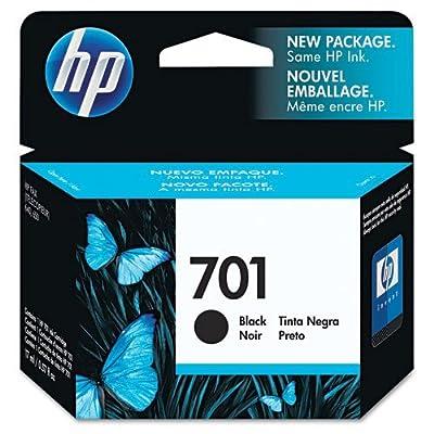 HP 701 Black Print Cartridge