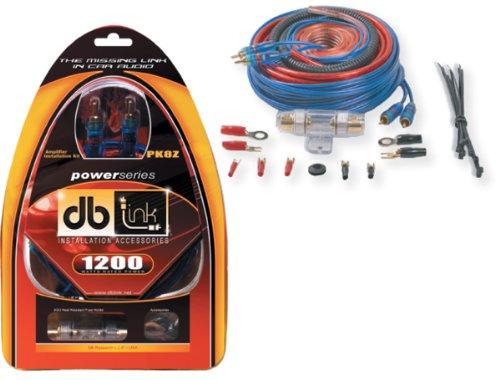 DB Link PK8Z 8-Gauge Power Series Amplifier Installation Kit