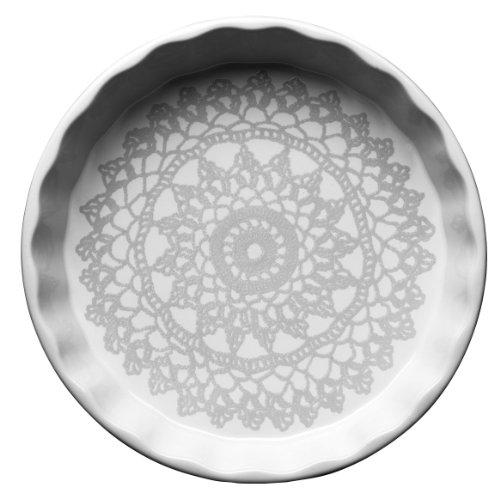 Sagaform 5016365 Grandma Stoneware Pie Plate
