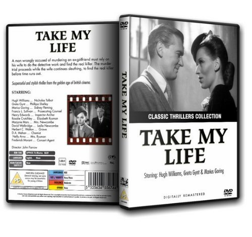 TAKE MY LIFE - Greta Gynt (1947) by Ron Moody: Amazon.es ...