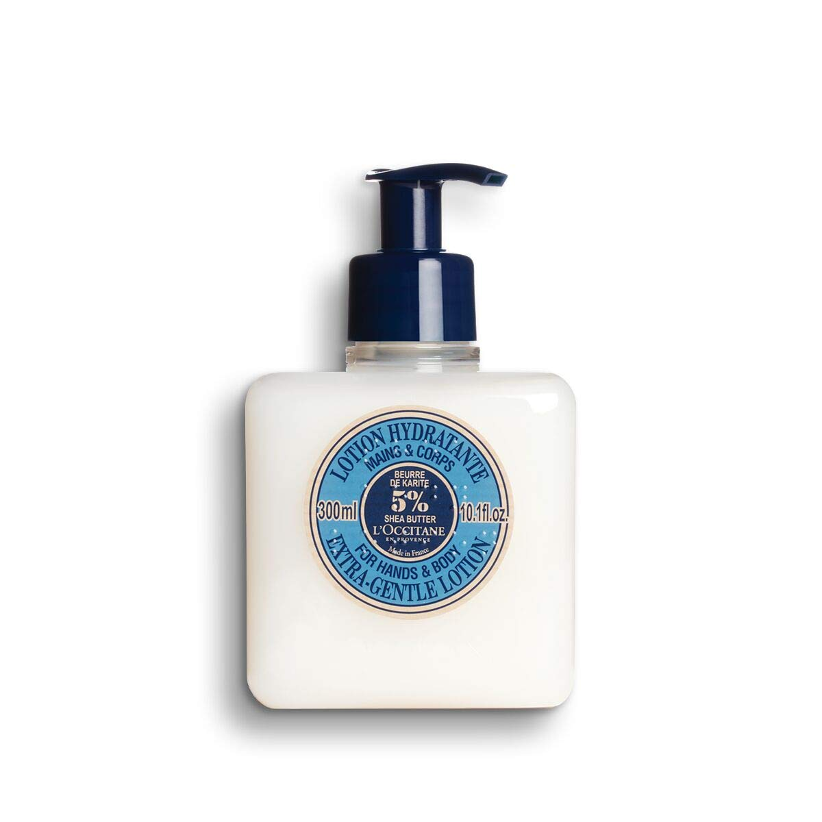 L'Occitane Extra-Gentle 5% Shea Butter Hand & Body Lotion, 10.1Fl Oz