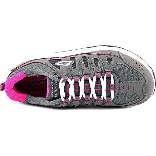 Skechers 2.0 Comfort Stride - Zapatillas de deporte exterior Mujer Charcoal/Pink