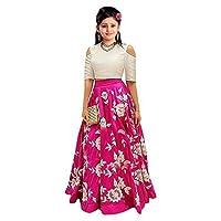 E Ethnic Store Girl's Banglory Silk...