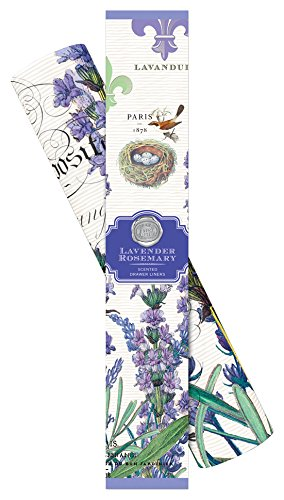 - Michel Design Works Scented Drawer Liners, Lavender Rosemary