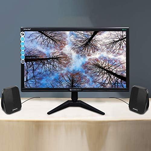 Zebronics Zeb-Fame 2.0 Multi Media Speakers with AUX, USB and Volume Control (Black)