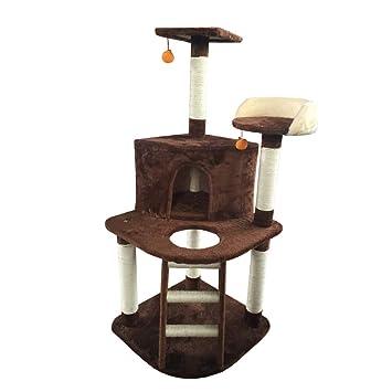 Moolo Árbol de Gato Árbol del Gato, sisal Natural de Felpa Corto, Torre del