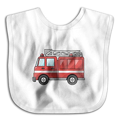 Red Firefighter Infant Toddler Bibs Super Absorbent Cute Design Baby Bib Funny Baby Shower - Gift