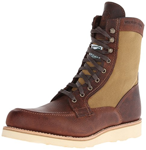 034a3f2735b Wolverine No. 1883 Men's Rowan 1000 Mile Lace-up Boot, Brown, 9 M US
