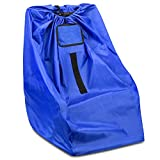 JunTeck Car Seat Travel Bag for Airplanes Fits All Toddler & Infant Car Seats - Convenient - Toughest Car Seat Cover for Travel