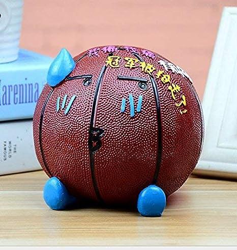 Ogquaton - Mini balón de Baloncesto con Forma de Cerdito de Resina ...