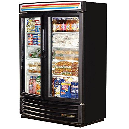 Front Refrigerated Merchandiser - True GDM-35SL-RF-LD Two Section Radius Front Refrigerated Merchandiser Refrigerator