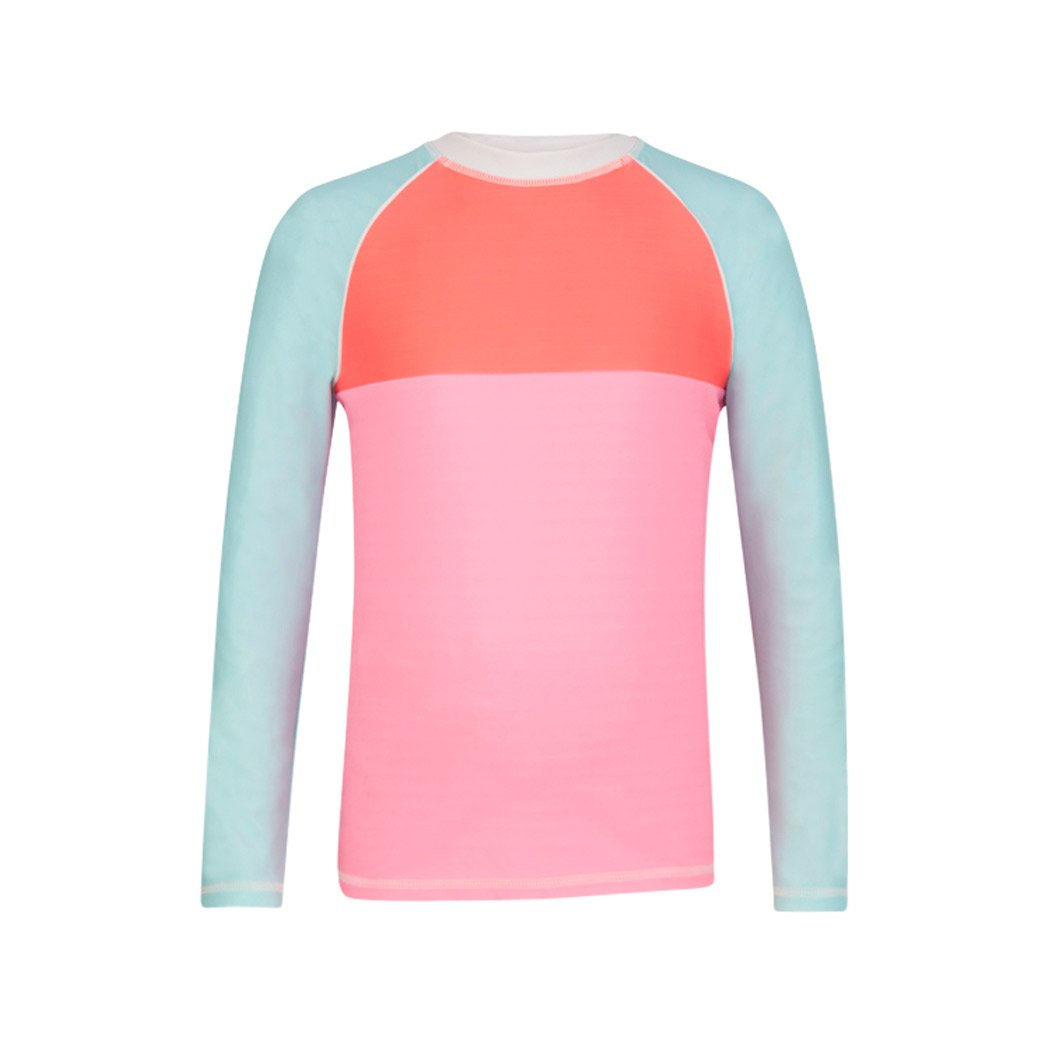 Snapper Rock Girls Long Sleeve UPF 50 Rash Guard Shirt
