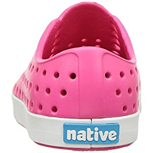 Native Kids Jefferson Water Proof Shoes, Hollywood Pink/Shell White, 7 Medium US Toddler