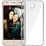 FADSHO Exclusive Soft Silicone TPU Jelly Crystal Clear Case Soft Back Case Cover For Intex Aqua S3 -Transparent