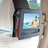 """CycleMore New Car headrest mount strap holder case for 7""""inch portable DVD player"""
