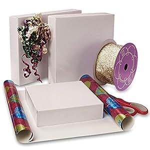 """Amazon.com: White Wholesale Gift Boxes 12"""" X 12"""" X 5 1/2"""