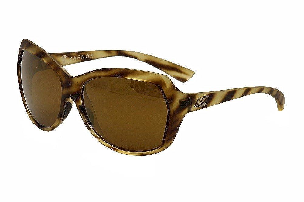 Kaenon EYEWEAR レディース One Size Driftwood/brown 12 Polarized Gold Mirror B01HJJ70J8