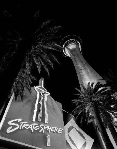- Photography Poster - Stratosphere Casino Las Vegas Nevada 24 X 19
