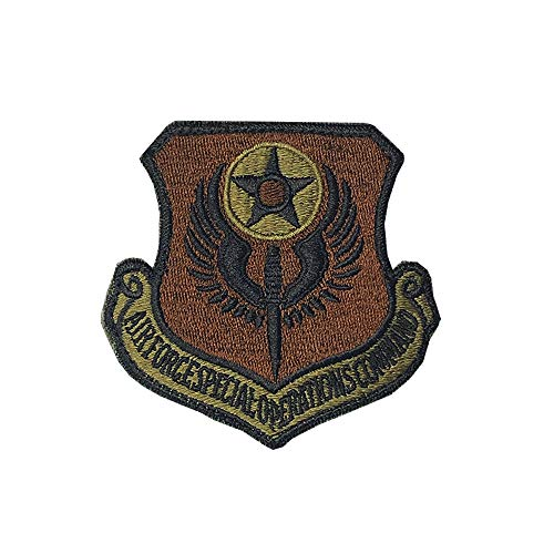 US Air Force Special Operations Command OCP Scorpion Spice Brown Patch with Hook Fastener